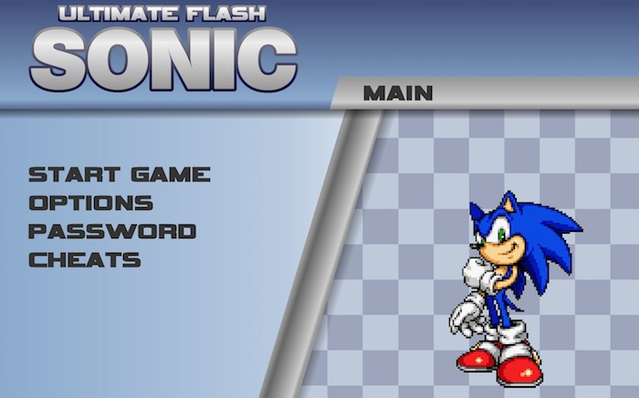 Ultimate Flash Sonic Game