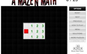A Mazen math game