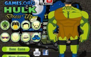 Hulk Dressup game