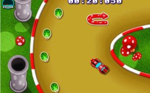 Mario Drift Car racing