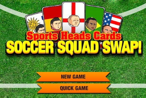 Sports Heads Cards: Soccer Squad Swap - Unblocked Games