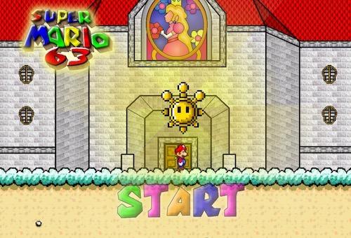 Super Mario 63 - Unblocked Games