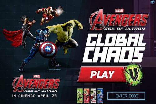 Avengers Age of Ultron Global Chaos
