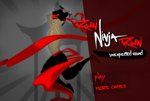 Run Ninja Run - Unexpected Road