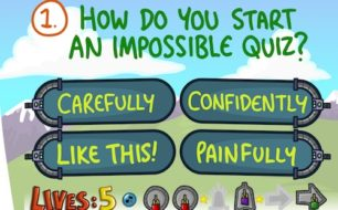 Impossible quiz book chapter 1