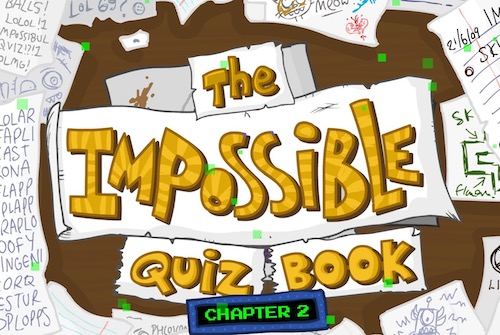 Impossible Quiz Book: Chapter 2