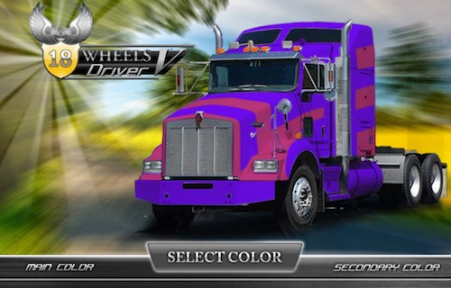 18 Wheels Driver 5: Park the Truck - Unblocked Games