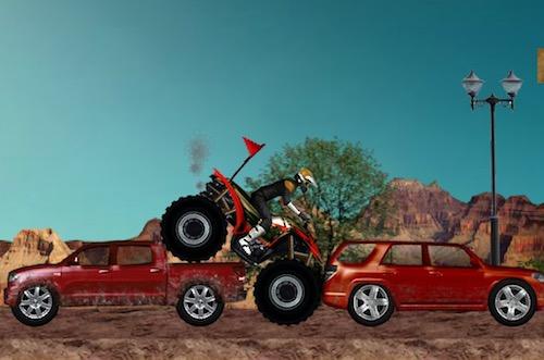 ATV Destroyer: Stunt Bike Riding - Unblocked Games