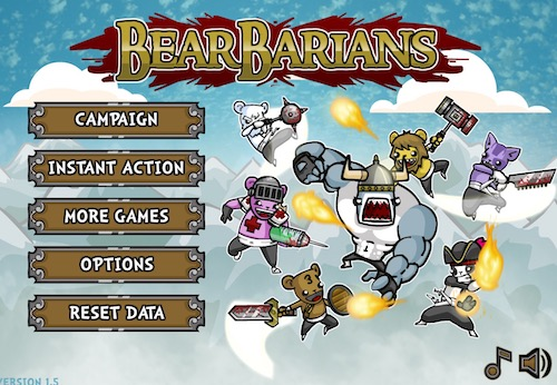 BearBarians: A Story of Barbarian Bears - Unblocked Games