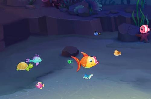Fish Eat Fish (3 Players Game)