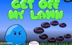 get off lawn