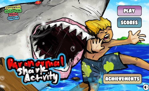 Paranormal shark activity unblocked games for Unblocked fishing games