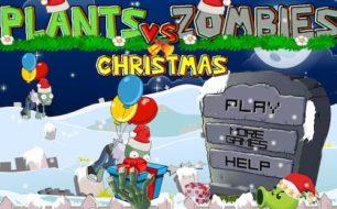 plant vs zombies christmas