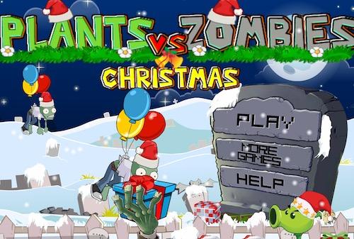 Plants vs Zombies Christmas (3rd Version)