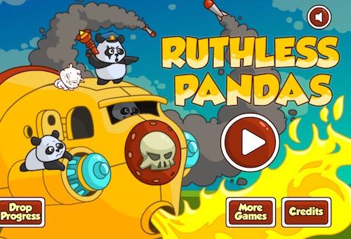 Ruthless Pandas (Shooting Game)