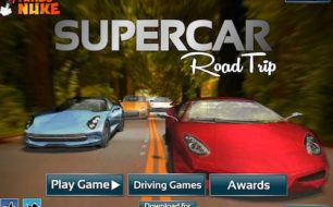 supercar road trip