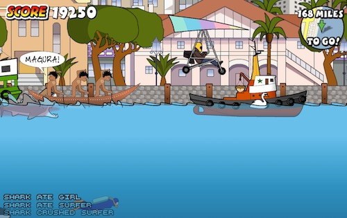 Sydney shark attack unblocked games for Unblocked fishing games