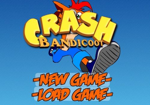 Crash BandiCoot Flash Version