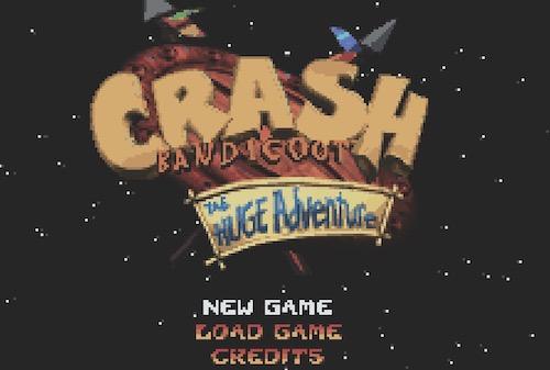 Crash Bandicoot - The Huge Adventure (GBA)