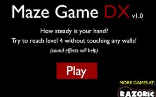 scary maze dx