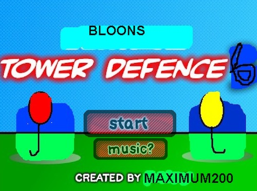 Bloons Tower Defense 6 (BTD 6): Fan Made Game