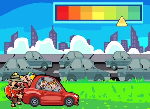 Red Car  Unblocked Games