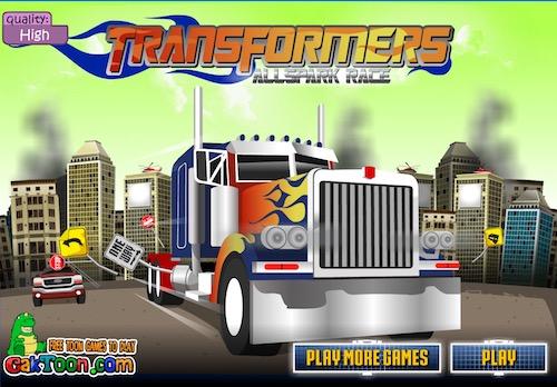 Transformer Allspark Race Unblocked Games