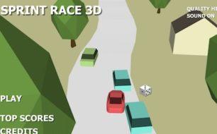 sprint race 3D