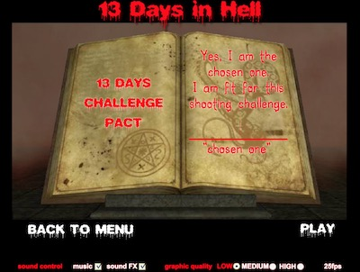 13 days in hell hacked unblocked games