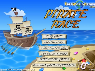 Pirate Race Hacked