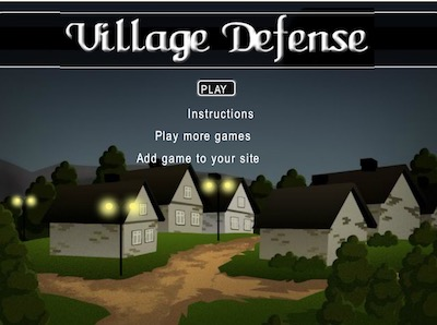 Village Defense Hacked