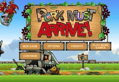 Pork Must Arrive