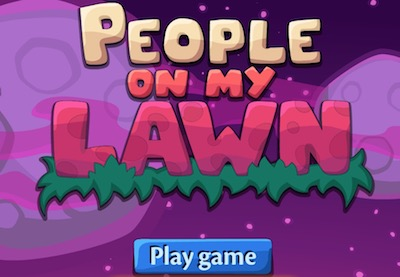 People on my lawn