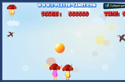 2 Players Bubble Shooter