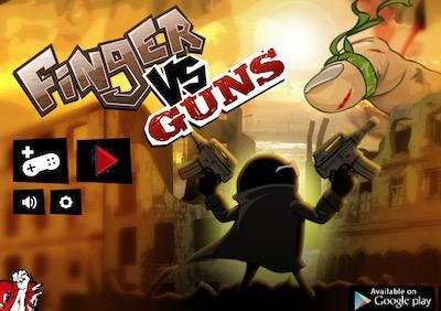 Finger Vs Guns