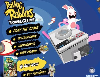 Raving Rabbids (Travel in Time)