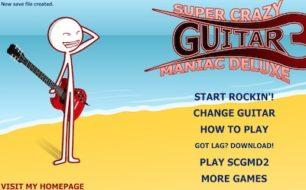 super crazy guitar