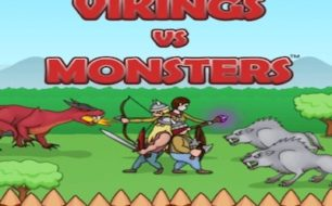 viking vs monster