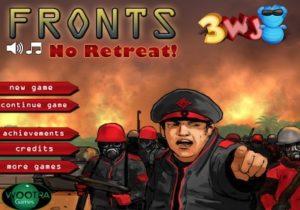 fronts no retreat