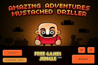 Amazing Adventures Mustached Driller