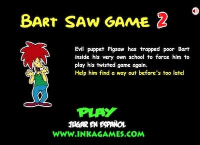 Bart Saw Game 2