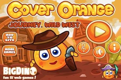 Cover Orange Journey Wild West