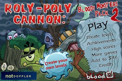 Roly-Poly Cannon Bloody Monsters Pack 2