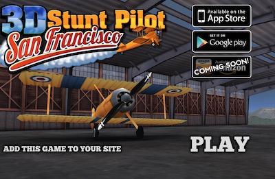 3D Stunt Pilot Sanfrancisco (Let's Fly)